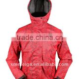 News jackets for men,100% polyester fabric ,mesh lining, all seam taped,100% waterproof