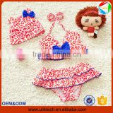 2016 Hot child two pieces baby girl bathing suit for summer girl swimming suit wholesale beachwear sexy bikini girl (ulik-S026)