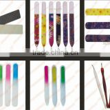 2014 new durable lifetime glass acrylic nail file/fashionable glass nail file/permanent glass nail file