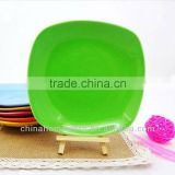 Round Ceramic Fruit Plate for Breakfast Set