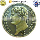 new products high quality fashion custom copper antique souvenir coin
