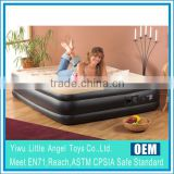 Luxury inflatable air bed , double airbed mattress, built in pump mattress air bed                                                                         Quality Choice