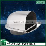Hvac waterproof stainless steel air vent cowl cover