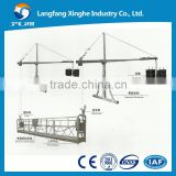 zlp800 electric cradle winch / electric suspended scaffolding / ltd80 hoist suspended platform for building cleaning ,painting