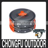 wholesale alibaba stainless steel cookware pan and pot for camping equipment china                                                                                                         Supplier's Choice