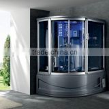 Steam shower enclosure sauna massage whirlppol hot tub bath showers