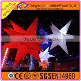 Party yard decoration LED Inflatable hanging star