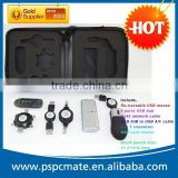 Office travel kit wholesale gift items for resale 2.4g wireless usb receiver kit