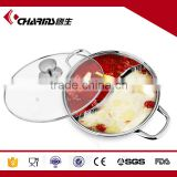 Best quality 26 28 30cm round roll top electric stainless steel hot pot                                                                         Quality Choice