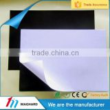China Mainland Factory Anisotropic rubber magnet sheet with adhesive back