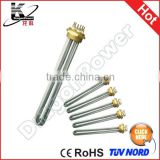 AC 120V 1650W Stainless Steel Brewer Heater Element Water Tubular Element Immersion Heating Tube Low Watt Density Heater