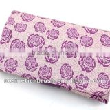 New arrival top quality Professional manufacture purple make up girls beauty brush bag pouch