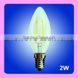 New seller UL RoHS decorative Dimmable candle C32/B10 LED filament bulb with cheap price