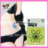 Jewelry body tattoo stickers crystal/diamante/rhinestone/gem sticker GEM100113