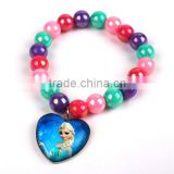 Fashion Candy Color Beads Bracelet Jewelry for Young Girls