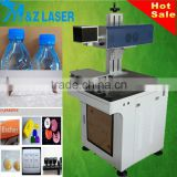 30W hot sale Cloth Jeans leather Cable co2 PCB laser marking machine