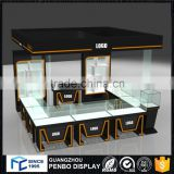 Modern style custom made e cigarette display stand high quality electronic cigarette kiosk