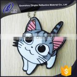 high quality factory price hot promotion hanging reflective accessories keychain jewelry