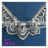cheap embroidery lace trim dubai / bridal french lace fabric / wedding dress lace suppliers