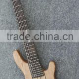 6 string neck through body electric bass guitar