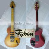 Weifang Rebon RLP standard tremolo electric guitar with floyd rose bridge