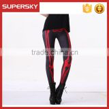 V-871 High Quality Legging Yoga Wear Wholesale Gym Sports Pants Custom Sublimated Women Legging