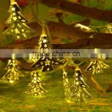 137 LED Warm White Star Linkable Window Curtain String Light Outdoor Garden Star Curtain Light