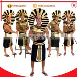 sex men cosplay halloween party xxxxl fancy dress egyptian pharaoh costumes for adults                                                                         Quality Choice
