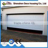 Motorized Galvanized steel Polyurethane insert sectional garage door prices with chain hoist handle all accessories
