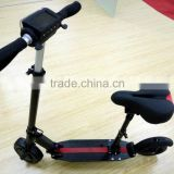 China Htomt security use 2 wheel scooter folding scooter with seat electric scooter motorcycle with Samsung battery