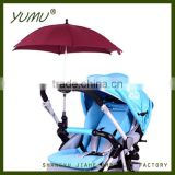 Flexible Baby Stroller Umbrellas for Sun and Rain