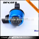 Wholesale different colors of compass small bell LED bicycle front light