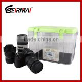 With electric moisture absorber camera dry box for Nikon Canon Sony Camera Lens dry cabinets