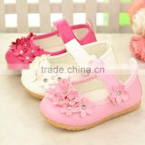 222 Cute Princess Girls Kids Sandals New floral Flat Shoes