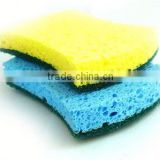 kitchen cellulose sponge within scouring pad,kitchen sponge scouring pad,scrub natural cellulose sponge
