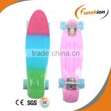 Sport cool design plastic skateboard