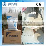SCA1 25-40 Celsius High range Soundless Expansive Mortar expansive cement for demolition of construction and quarry