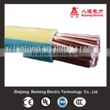 Green&yellow PVC insulated stranded copper cable