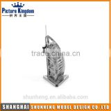 Custom made DIY toy building Burj Al Arab Hotel 3d model metal puzzle