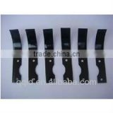 Agriculture tiller blades made by die cutting machine