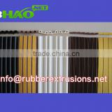 d type rubber seal strip / sponge rubber adhesive waterproof door sealsmanufacturer and supplier from China