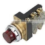high grade extend cap covered illuminated industrial push button switch with light 220v LAY1-11D