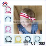 Newest Promotional Vintage Baby Headband Girl BowKnot Headbands