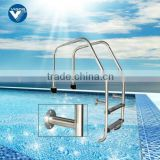 Manufacturer factory supply stainless steel 304# pool ladder