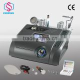 6 in 1 BIO+No-Needle Mesotherapy+Diamond Dermabrasion+ Skin Scrubber+Cold Hammer+Photon Beauty Machine