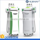 Top sale 5 inch LCD screen cryolipo fat freezing + rf + cavitation laser weight loss electronic machine