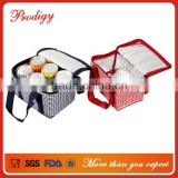 Polyester Disposable Outdoor Fitness Nice Quality 6 Pack Cooler Bag