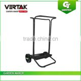 Good quality empty garden leaf cart, Outdoor garden cart, leaf bag cart