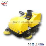 Electric city road sweeper with super storage battery