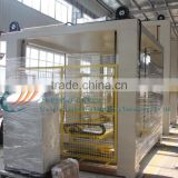 High level Automatic glass fruit canned jar carton palletizer machine